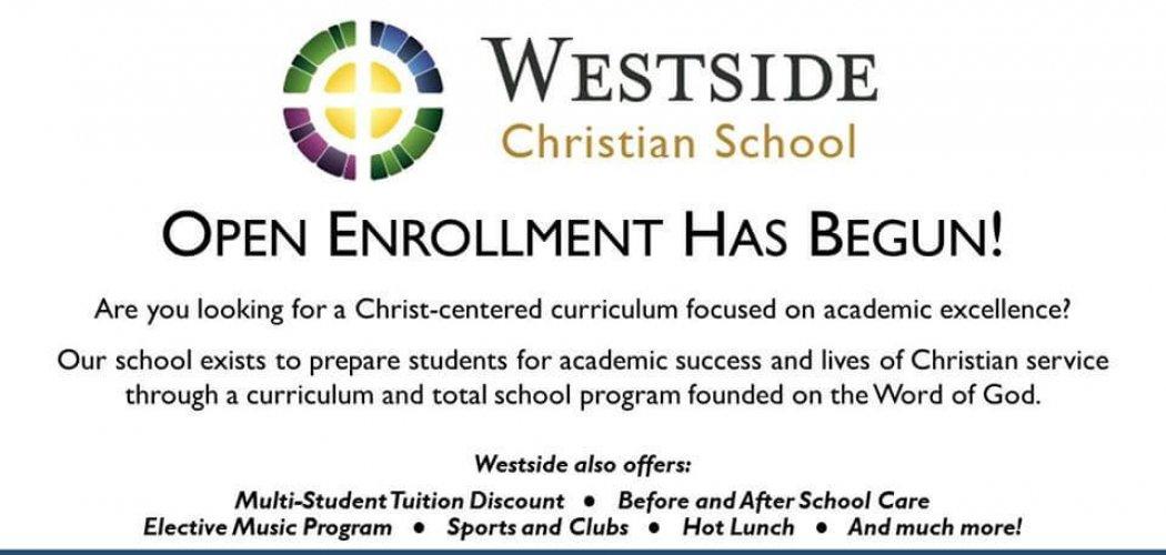 Open enrollment has begun